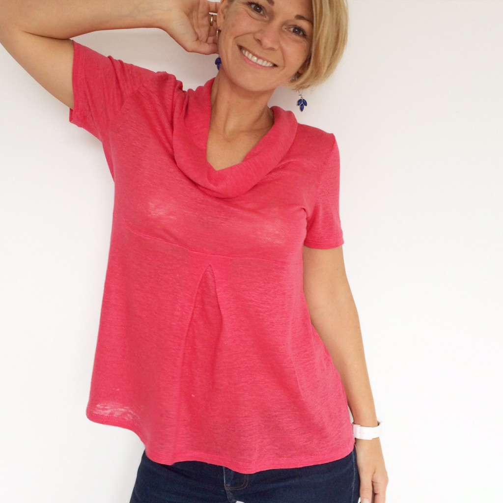 Basic Three version tee shirt en maille tricot fine
