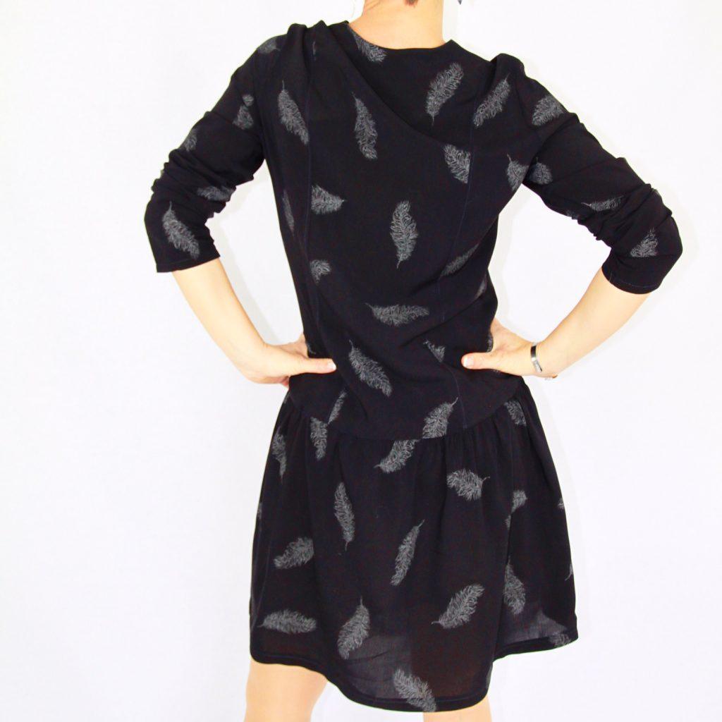 La jolie girafe robe 2D burda couture facile hors serie 55h P/E 2015
