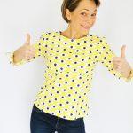 Patron Haut Vol en Tissu Madame Casse Bonbon