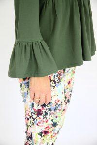 La Désinvolte Patron de couture de blouse par La Jolie Girafe