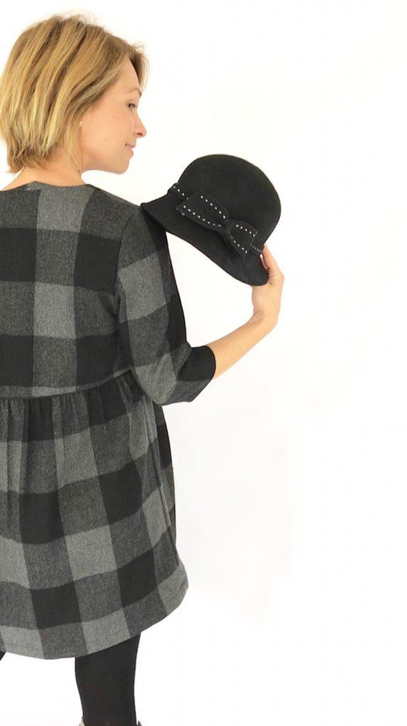 Patron La Désinvolte hackée version robe