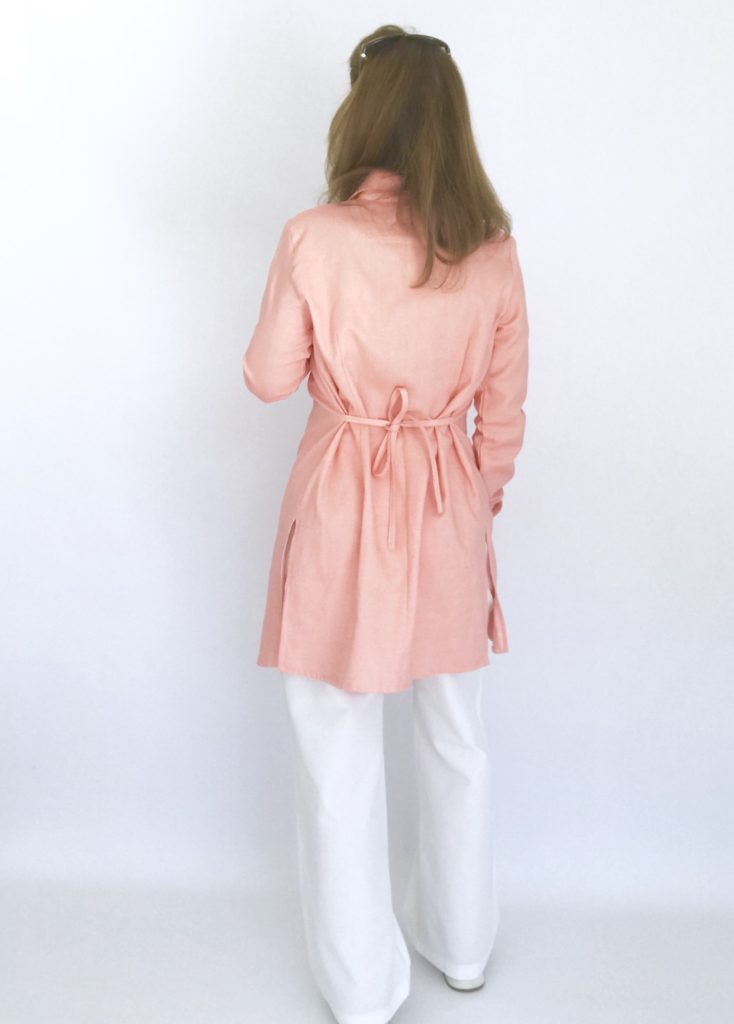 Patron Charlyne version chemise longue
