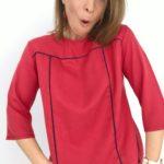 Patron blouse Niagara hacking plis creux