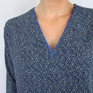 Mes blouses Basic two modifiées
