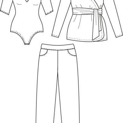 On Dirait des vrais pyjamas ces Basic 4 Pack