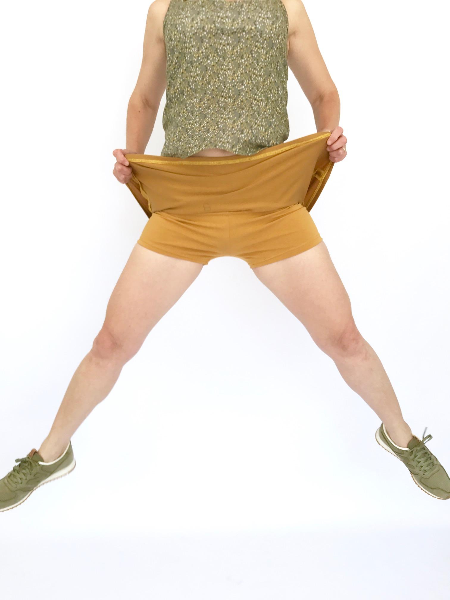 On Dirait des Vraies jupes-short ces Madinina