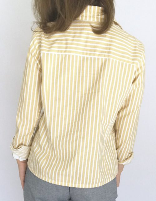 Patron Charlyne version chemise courte