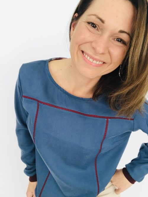 Patron blouse Niagara Hack bord-côtes
