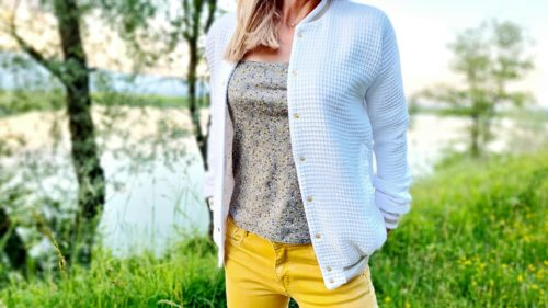 Patron de couture blouson femme Rosemonde