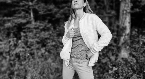 Patron de couture PDF blouson femme Rosemonde