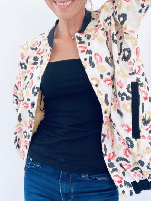 Patron couture PDF blouson femme Rosemonde